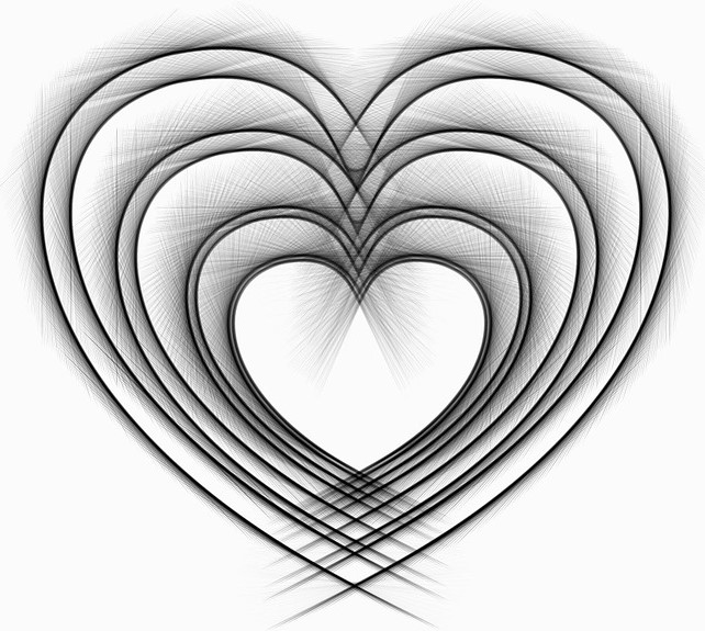 szív alakok