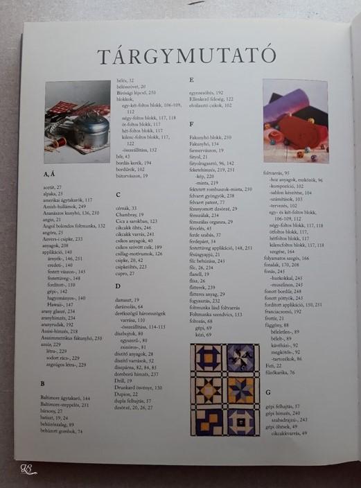 A varrás gyakorlati enciklopédiája 9